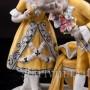 Статуэтка из фарфора Первое свидание, Heubach, Германия, нач. 20 века.