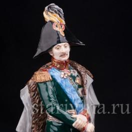 Фарфоровая статуэтка Русский генерал П. Х. Витгенштейн, Россия,, совр.